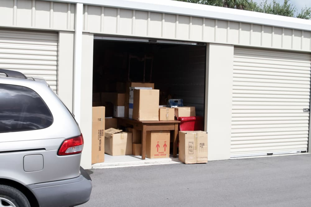 Outback Self Storage units for rent in Hattiesburg, Mississippi