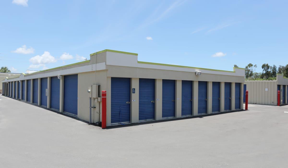 Exterior units at Midgard Self Storage in Naples, FL