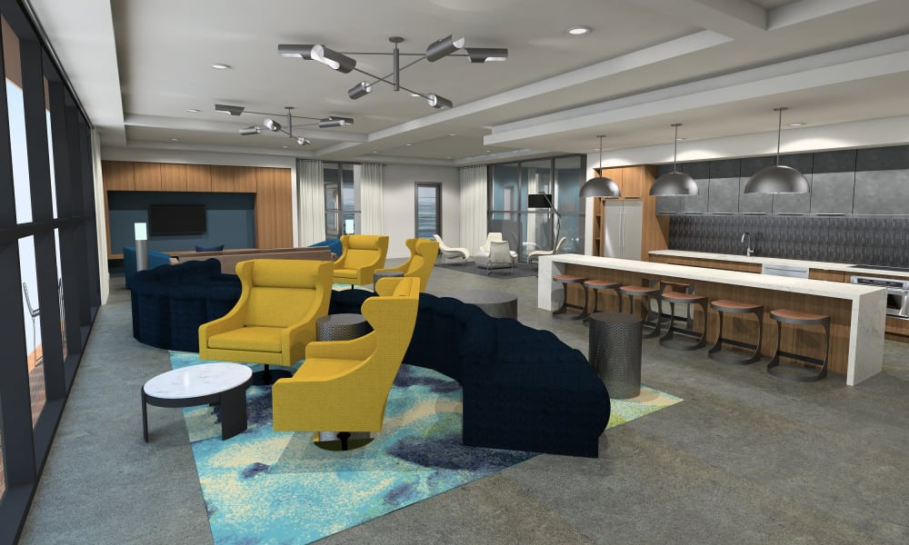 Clubhouse at Sky at Chandler Airpark in Chandler, Arizona