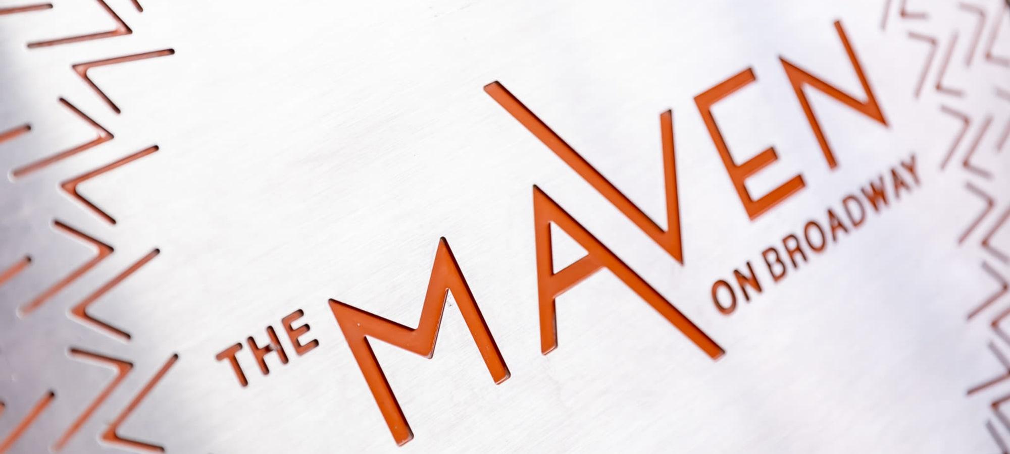 The Maven on Broadway, Minnesota The Maven on Broadway manhole cover