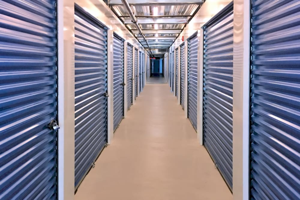 Climate-controlled units at Prime Storage in Mechanicville, New York