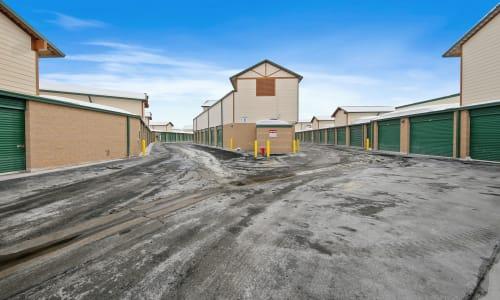 Storage facility Exterior Storage Units at Market Place Self Storage