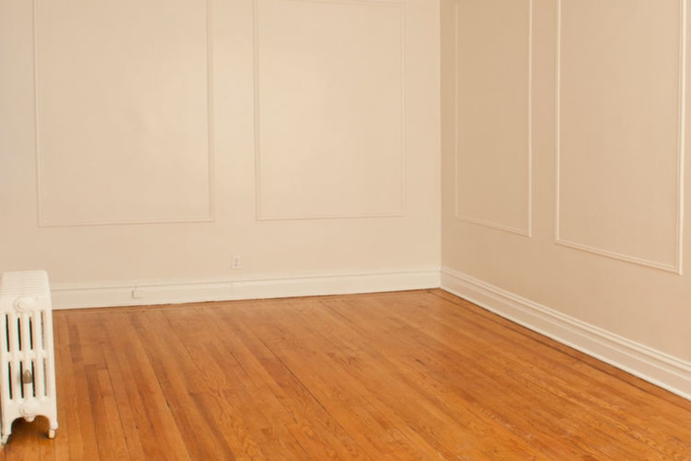 Large open room at Murray Apartments in Paterson, New Jersey