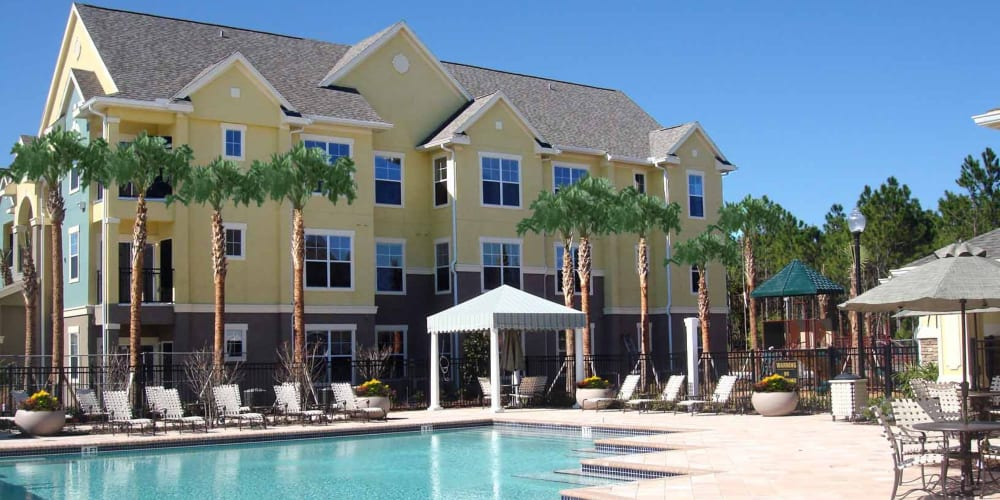 Pool view of Landings at Four Corners in Davenport, Florida