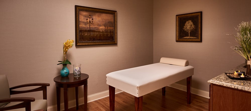 massage room at Waltonwood Cotswold