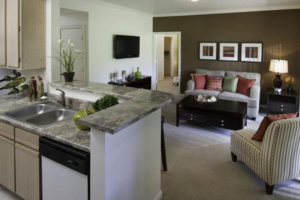 Apartment features at Alpine Meadows Apartments in Sandy, Utah