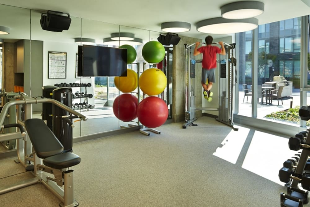 Fitness Center at The Nolo at Stadium Place in Seattle, Washington