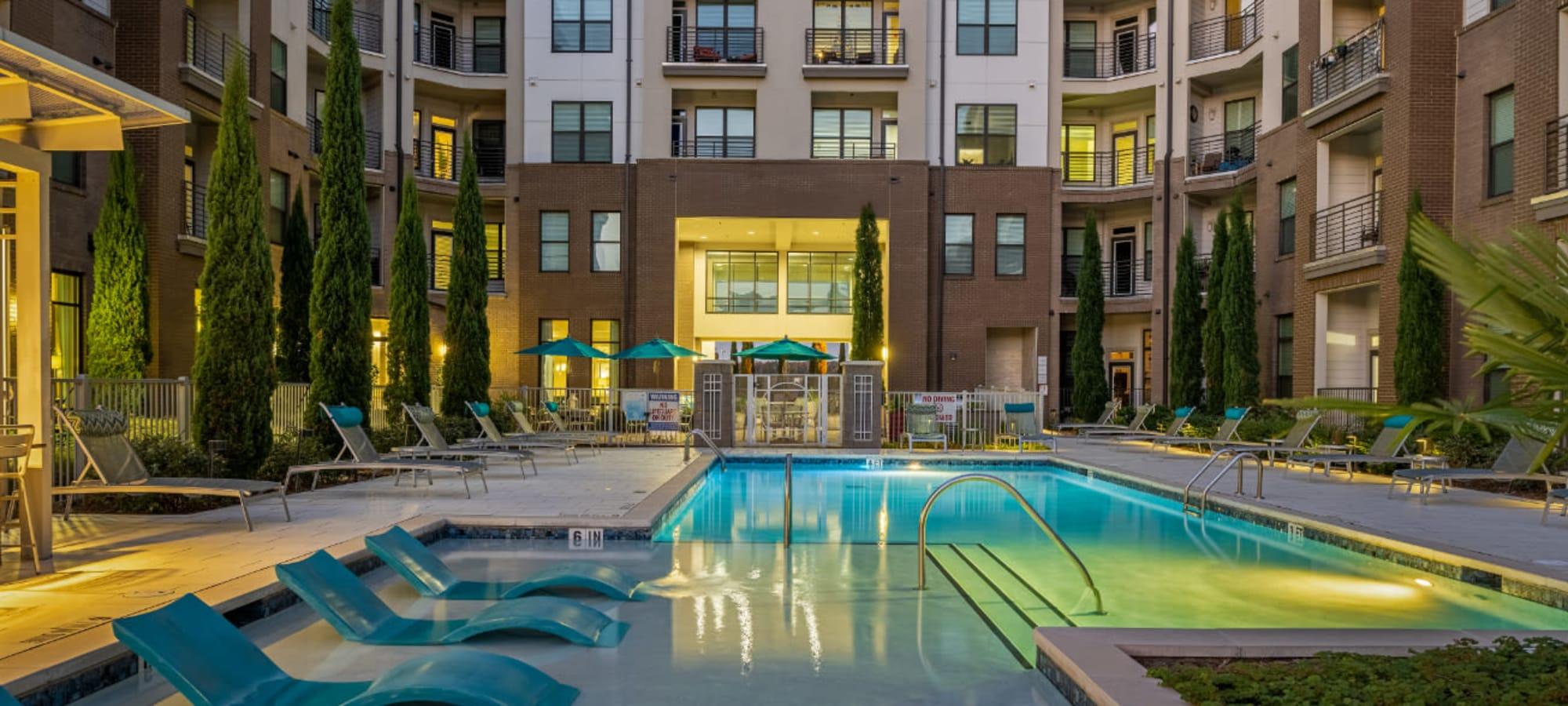 Apartments at Marq at Crabtree in Raleigh, North Carolina