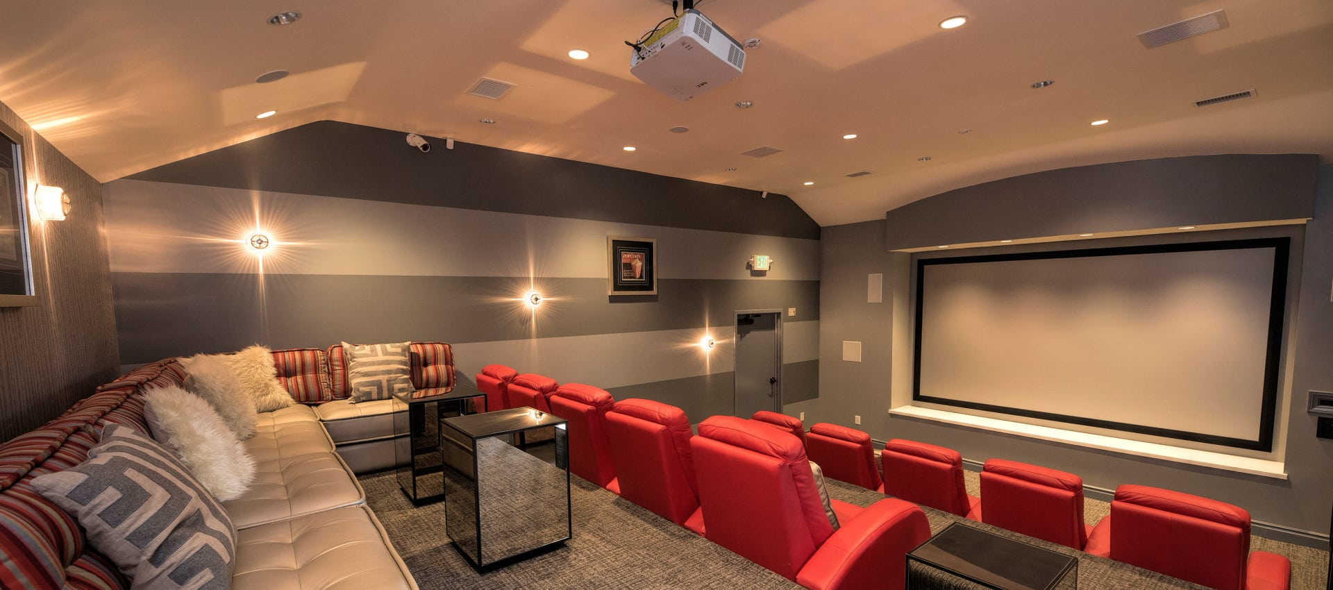 Movie Room at Shadow Ridge Apartment Homes in Simi Valley, California