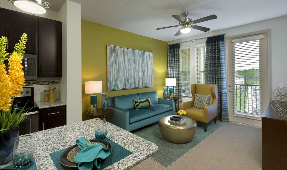 Living Room at Sands Parc