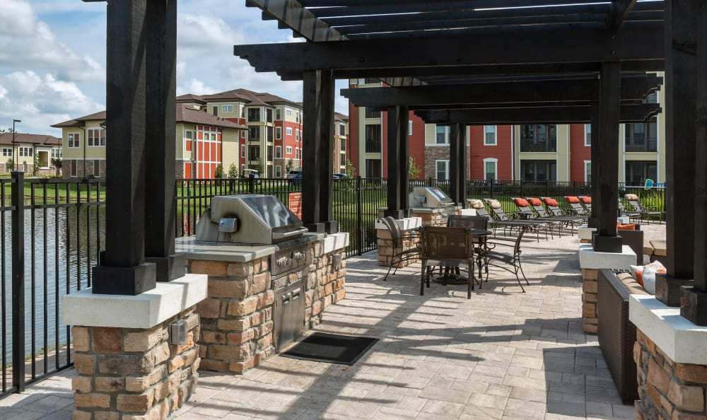 Grill Area at Sands Parc