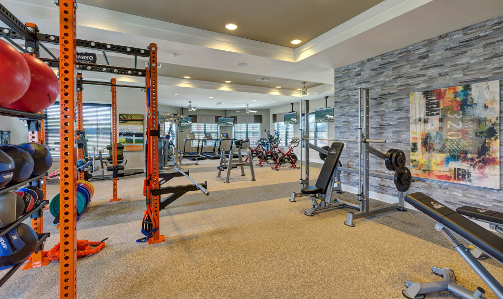 Gym at Sands Parc