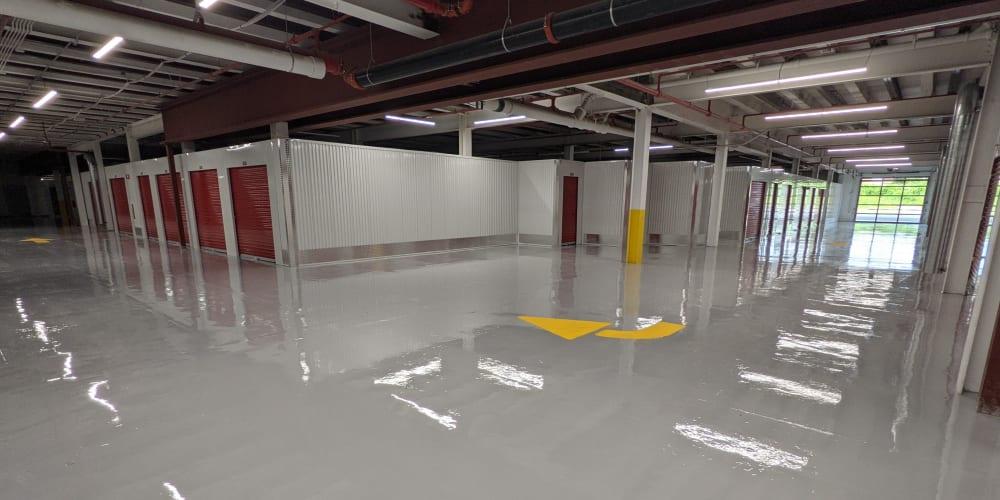 Interior units and drive in covered area at Devon Self Storage