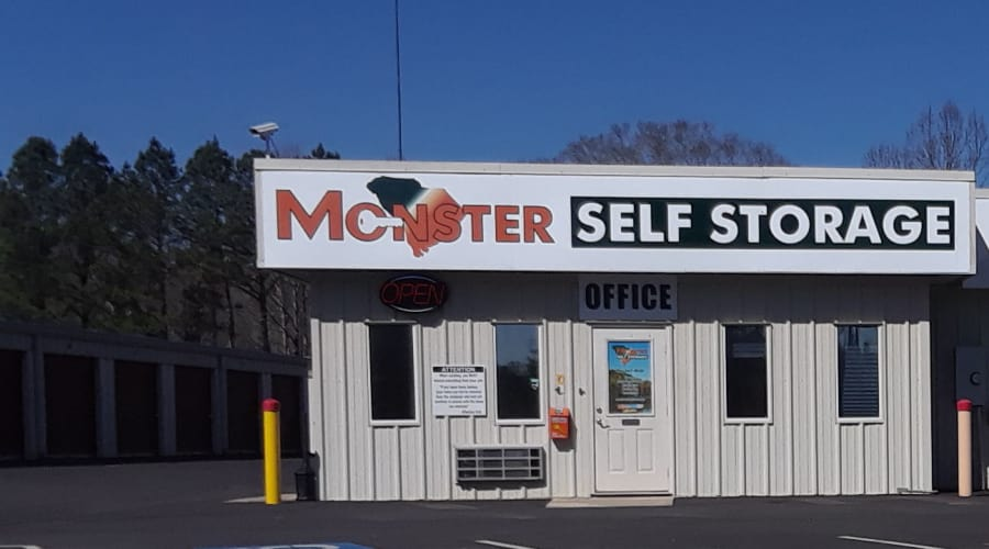 Temperature controlled storage at Monster Self Storage in Westminster, South Carolina