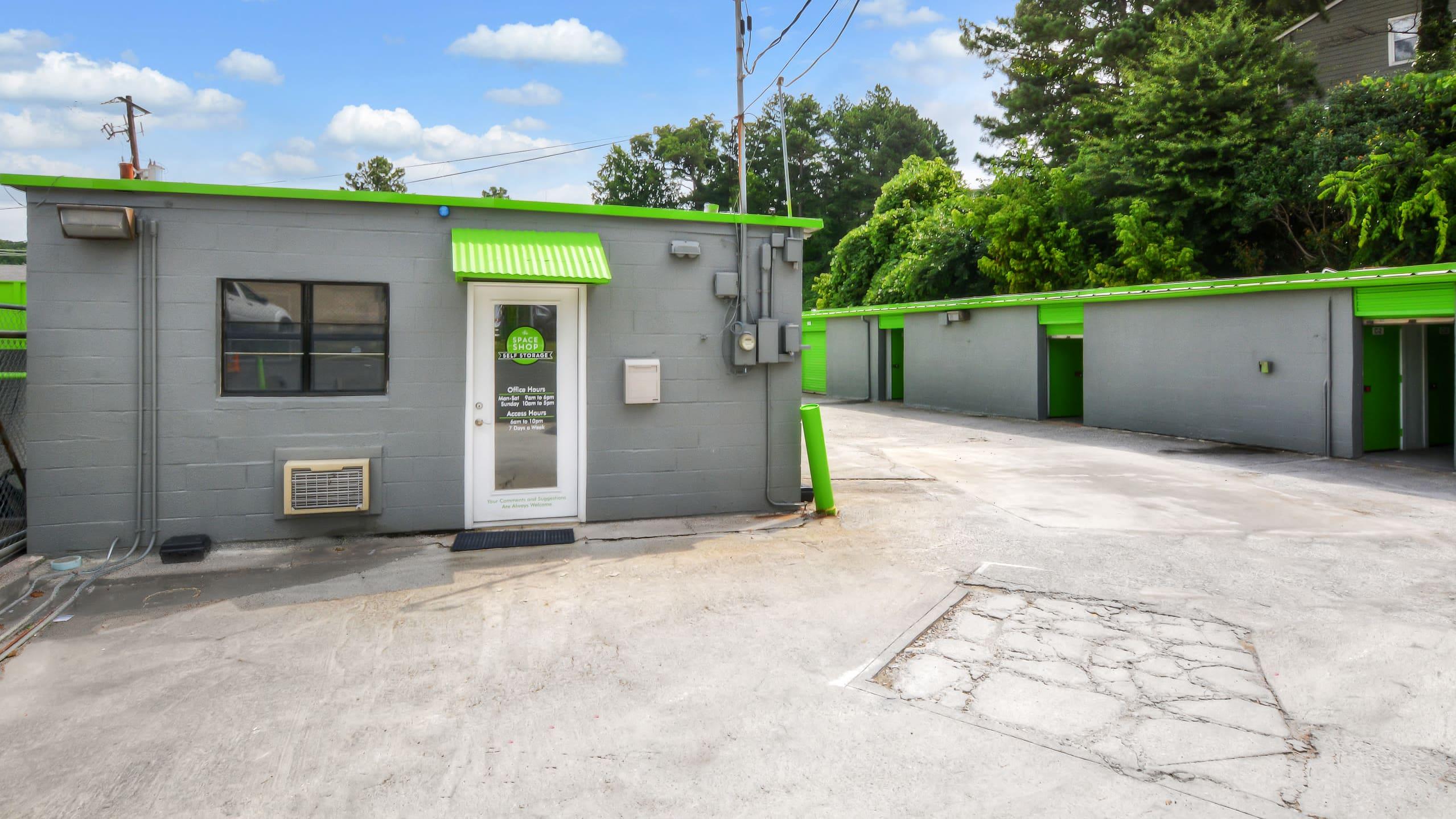 Curbside photo of Space Shop Self Storage in Atlanta