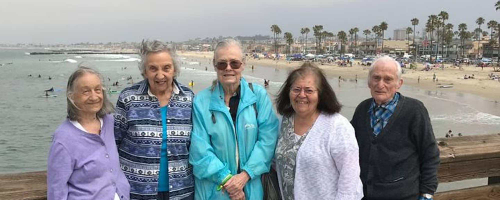 Beach trip with Huntington Terrace in Huntington Beach, California