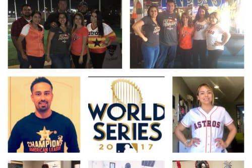 Cedar Ridge Apartments celebrates the Astros World Series