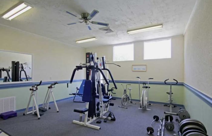 Onsite fitness center at Residences at Sonoma Woods in Newport News, VA
