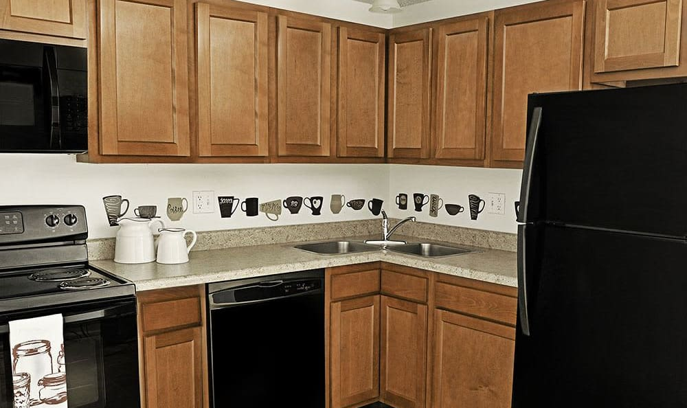 Our apartments in Webster, NY showcase a beautiful kitchen