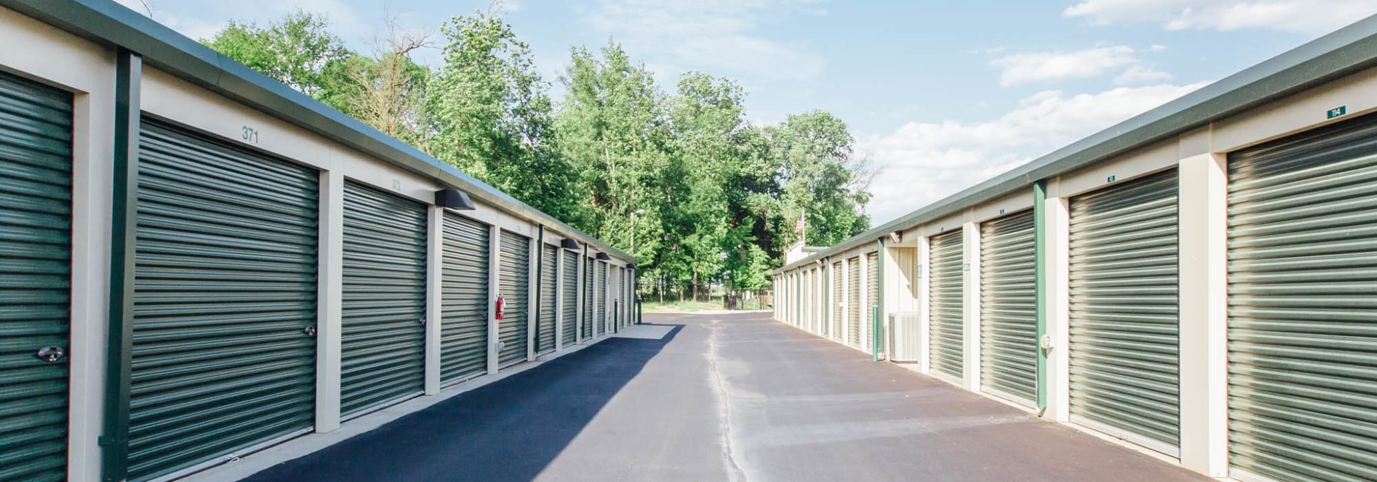 Self storage units in Harrisburg North Carolina
