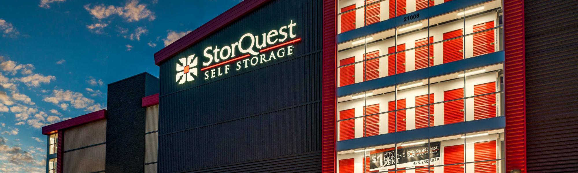 StorQuest Self Storage in Bothell, Washington