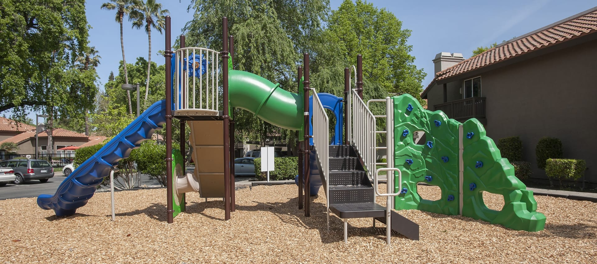 Playground at Shore Park at Riverlake in Sacramento, California