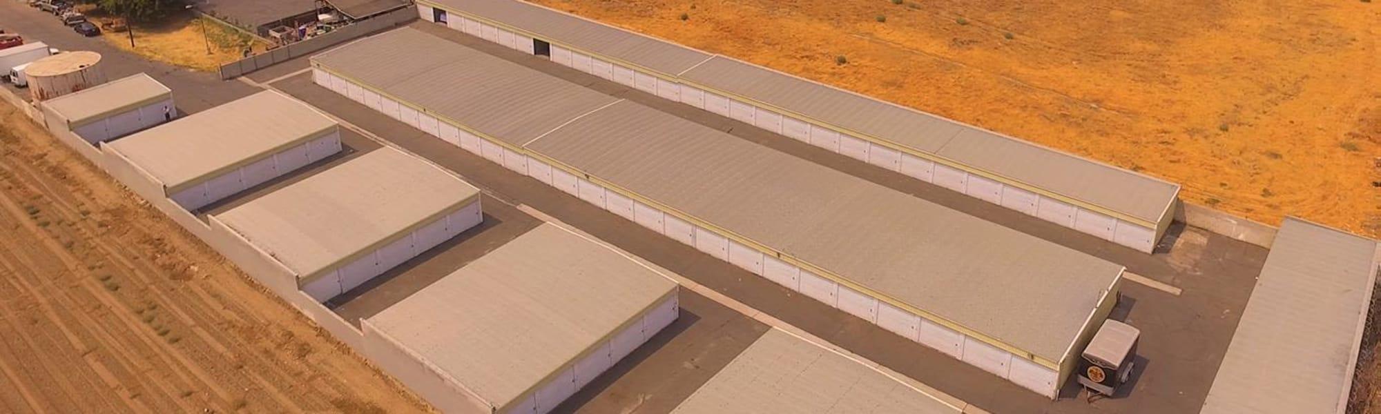 Sierra Vista Mini Storage in Bakersfield, California