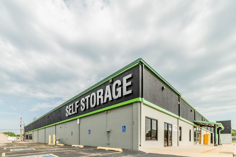 Exterior at Kenosha Self Storage in Broken Arrow, Oklahoma