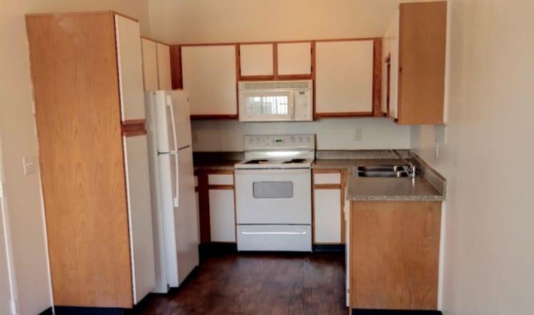 Kitchen view at Maryland Villas in Las Vegas