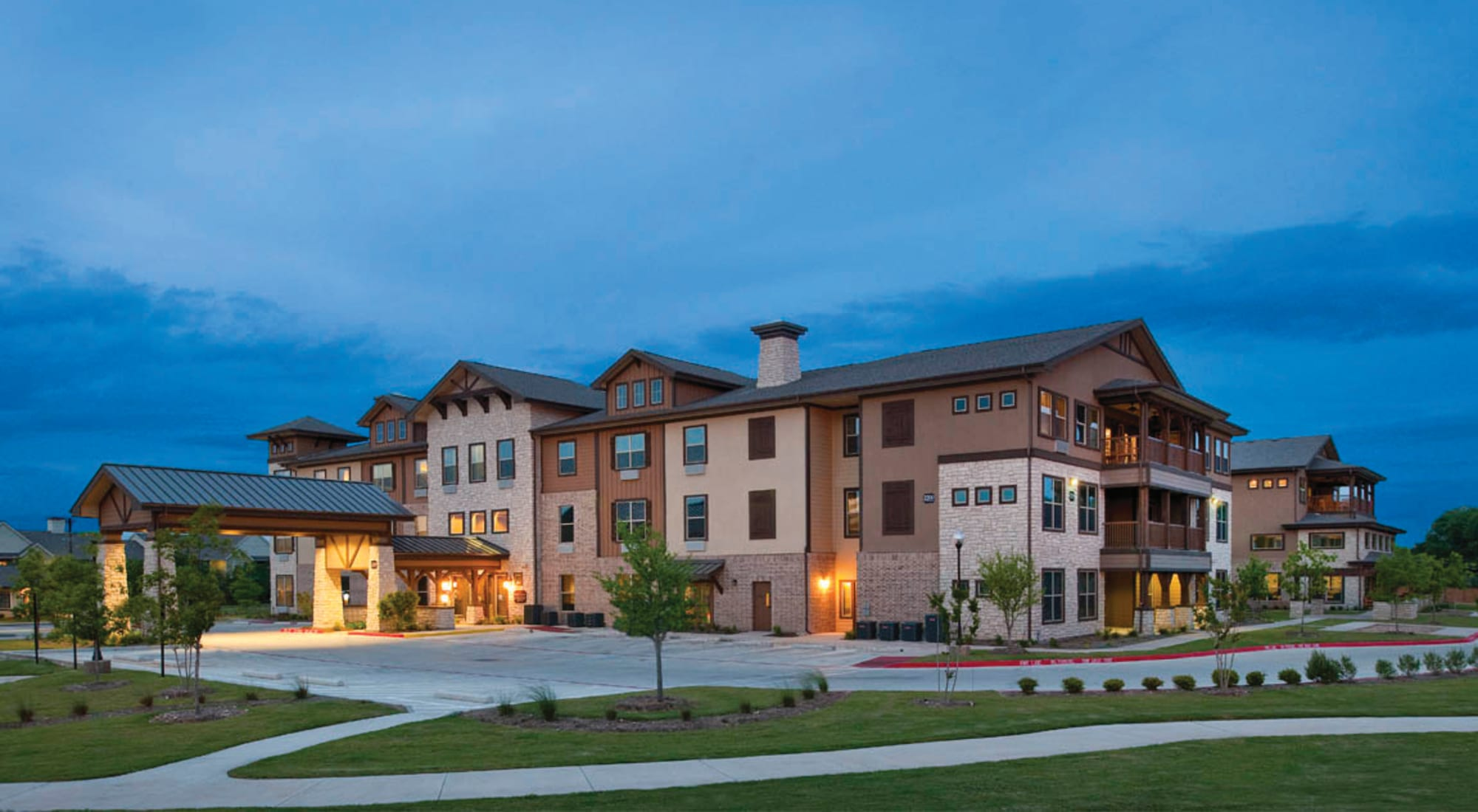 Senior living at Isle at Cedar Ridge in Cedar Park, Texas