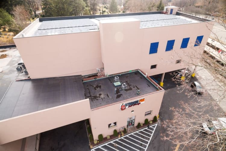 Aerial View Of The Storage Fox In White Plains, New York