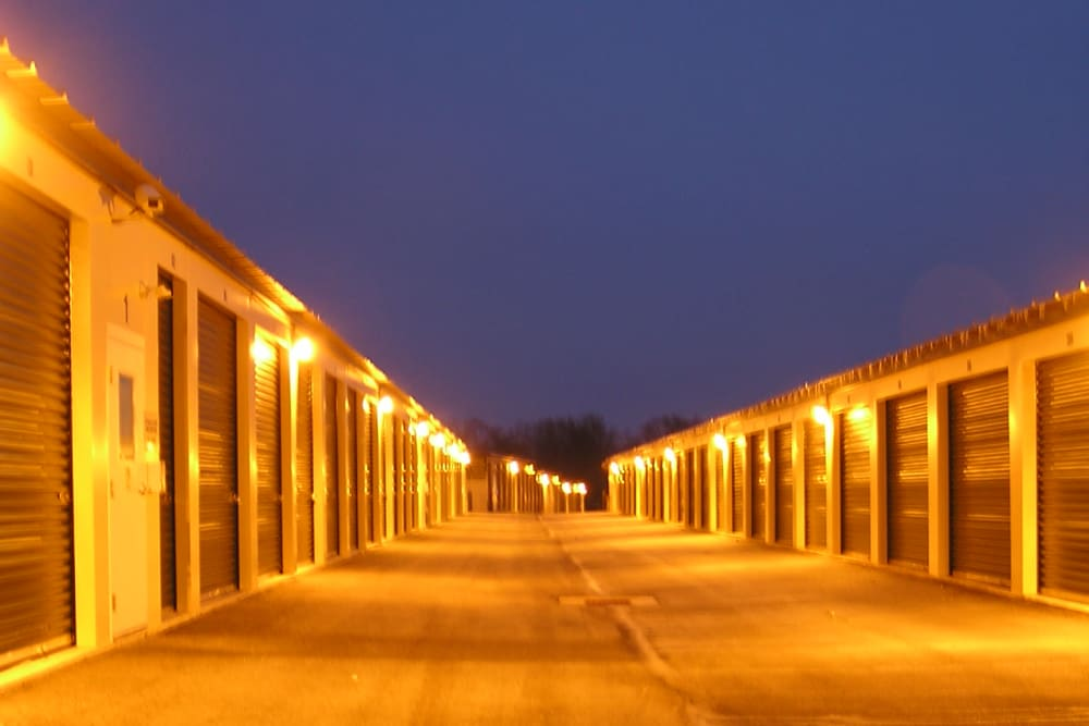Exterior units at Coventry Self Storage in Coventry, CT
