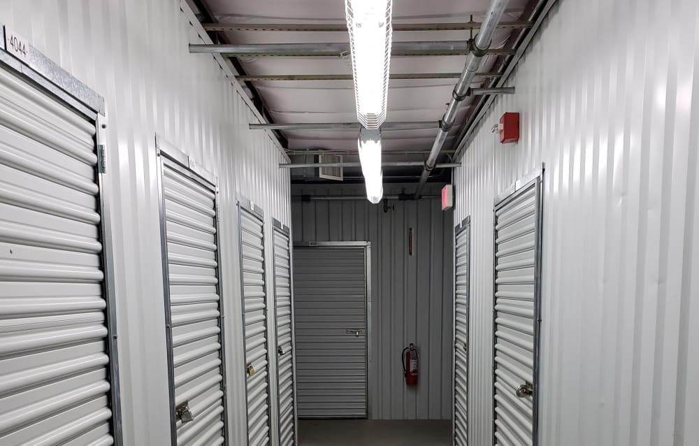 Indoor storage at Prime Storage in Bridgehampton, New York