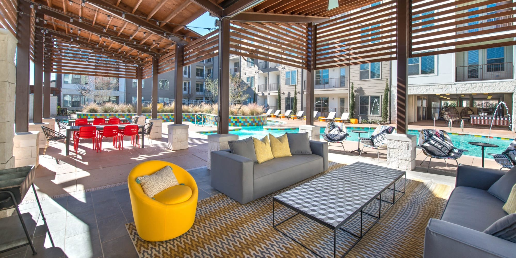Apartments at Mercantile River District in Fort Worth, Texas
