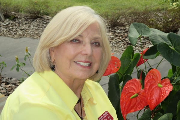 Mary Jo Greenwood at Camellia Gardens Gracious Retirement Living in Maynard, Massachusetts