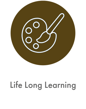 learn about life long learning at Arbor Glen Senior Living in Lake Elmo, Minnesota