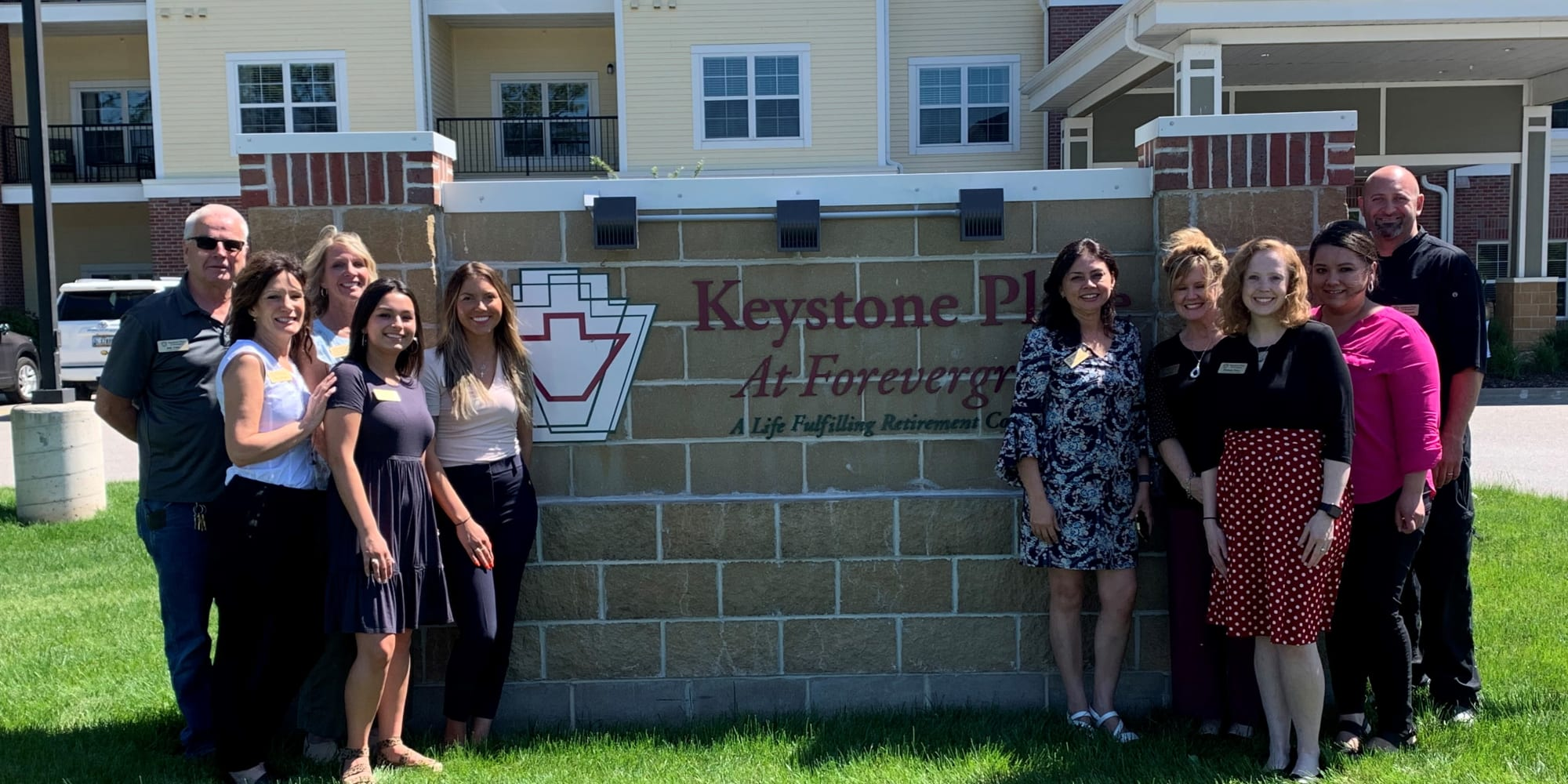 Our Team at Keystone Place at Forevergreen in North Liberty, Iowa