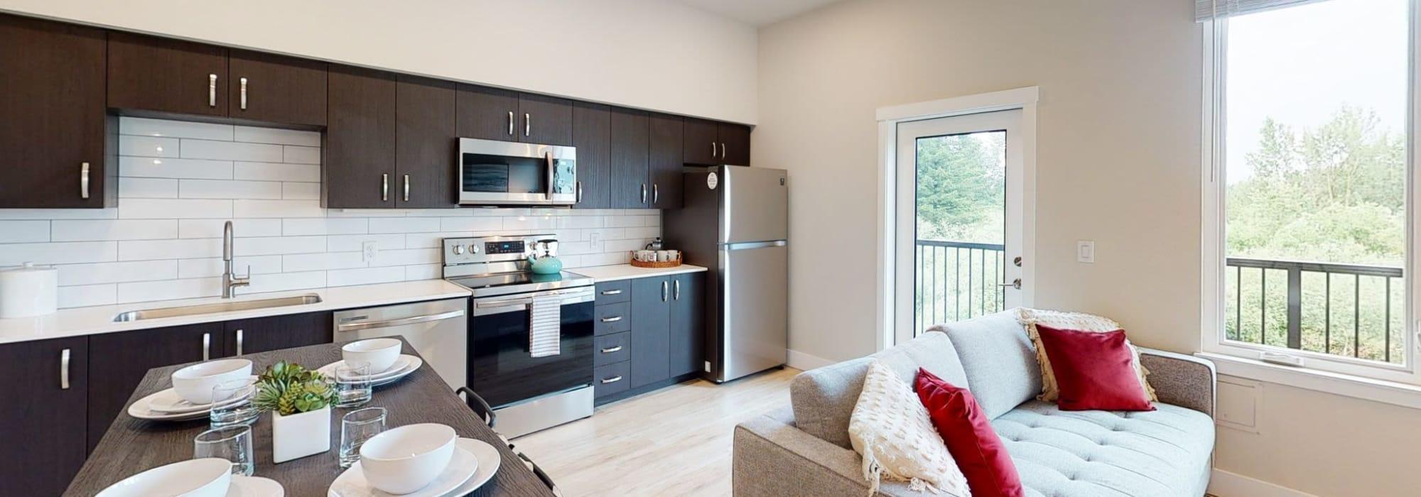 Floor Plans at Brookside Apartments in Gresham, Oregon