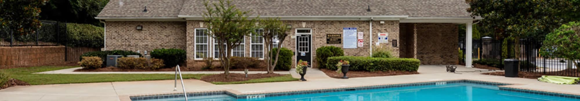 Pet-friendly apartments at Retreat at Stonecrest in Lithonia, Georgia