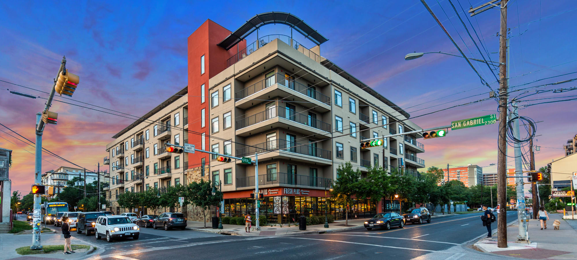 Apartments at Regents West at 24th in Austin, Texas