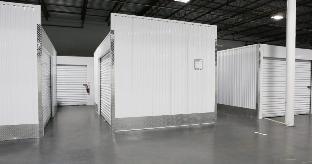Storage units at Midgard Self Storage in Columbia, South Carolina