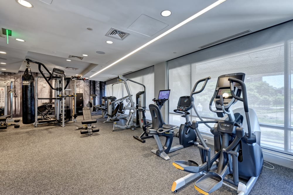 Vela on the Park in Stamford, CT offers a Fitness Center