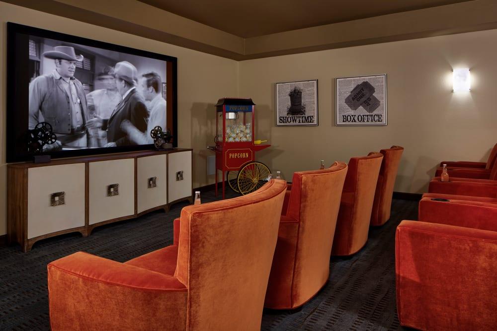 Cinema room at Regency Palms Palmdale in Palmdale, California