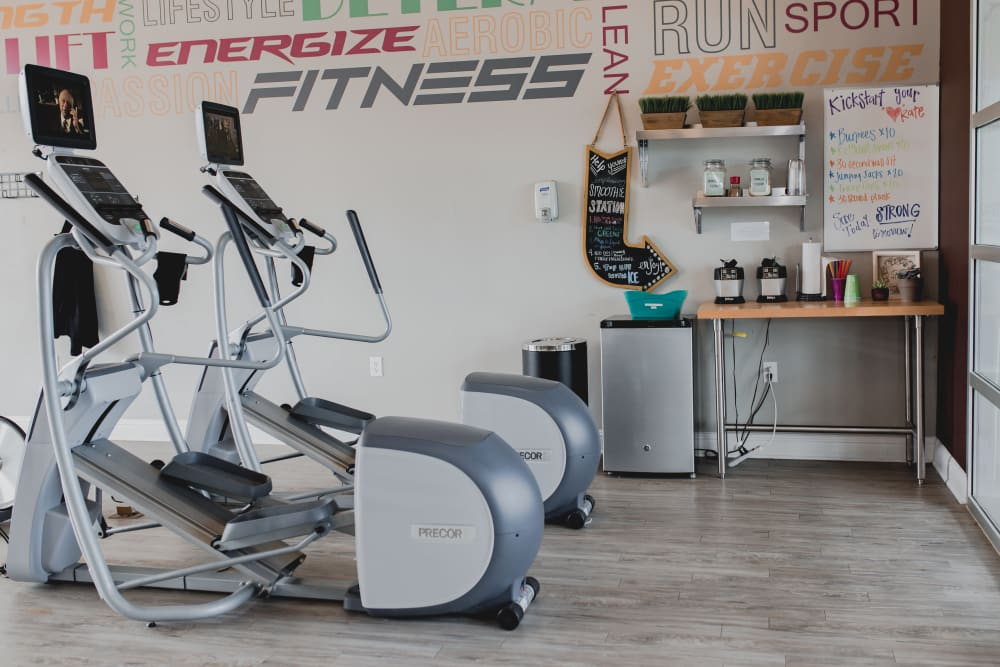 24-Hour Gym Fitness Center at Springs at Creekside in New Braunfels, TX