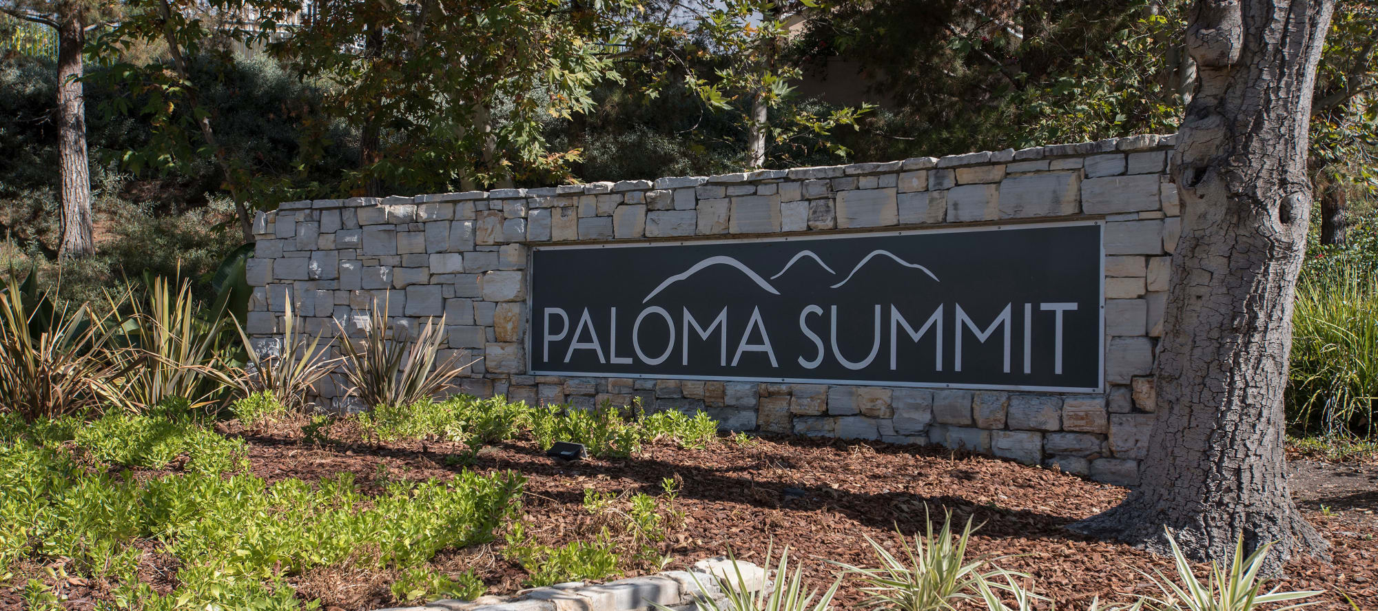Street entrance at Paloma Summit