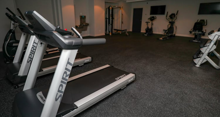 Fitness Center at Creekview Court Apartments