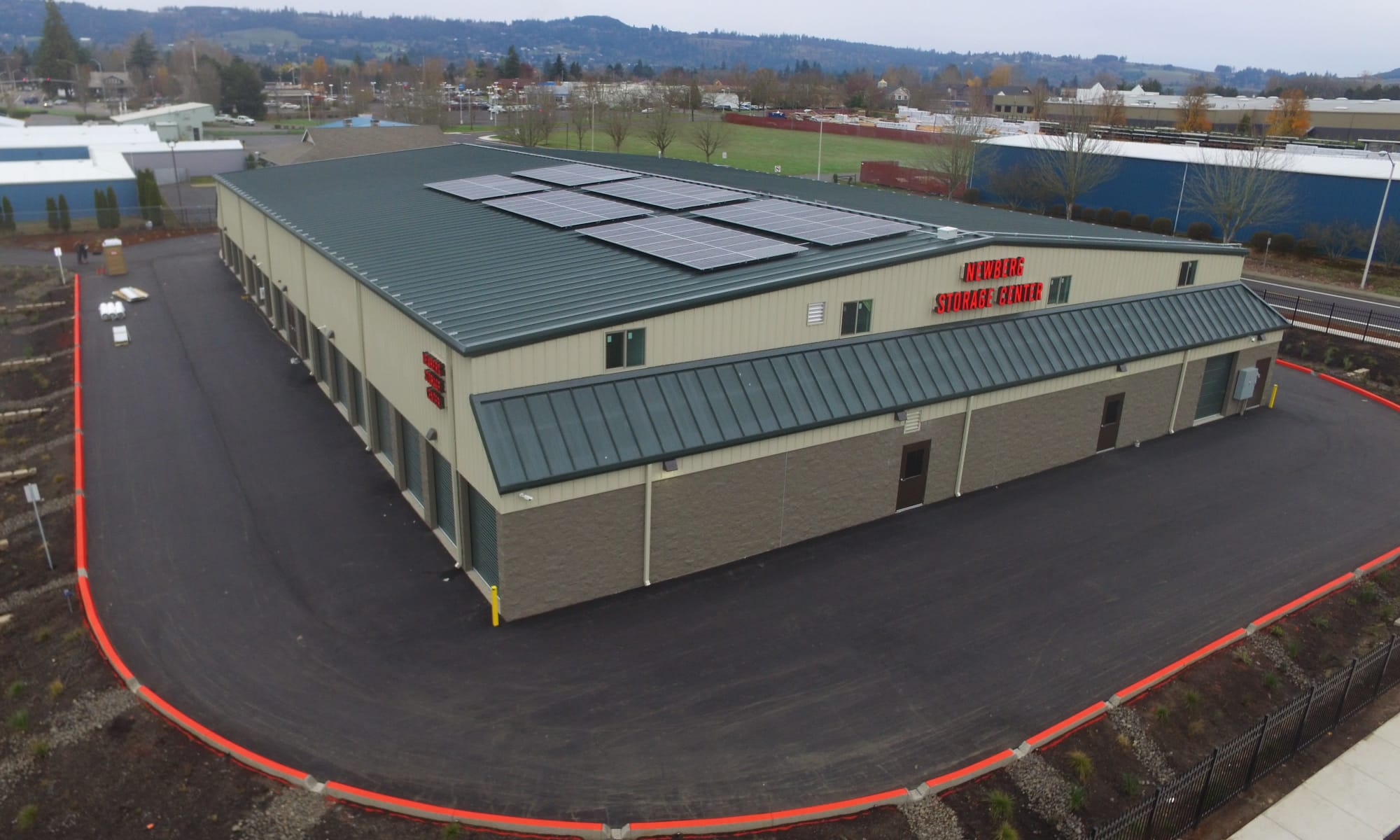 Storage facility in Newberg, OR