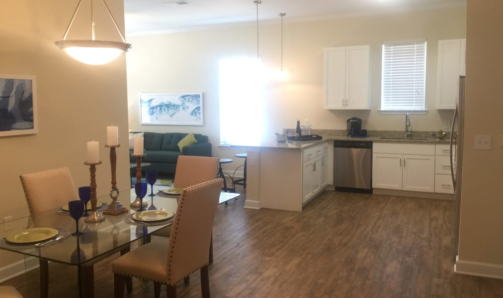 Spacious kitchen in our Jacksonville, FL apartments