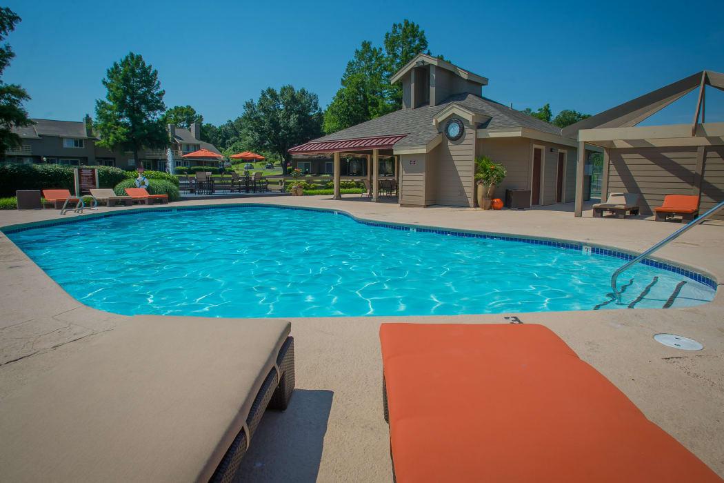 Swimming pool at Sheridan Pond in Tulsa, Oklahoma