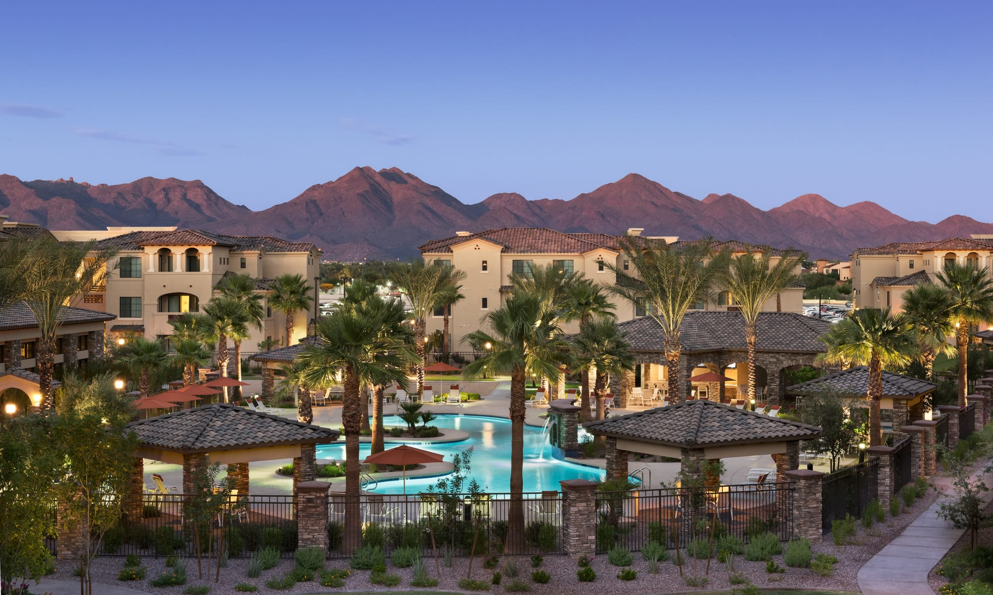 Apartments at San Milan in Phoenix, Arizona